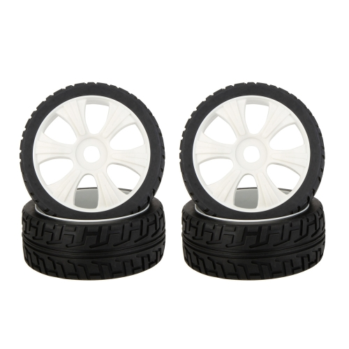 4Pcs High Performance 1/8 Rally Car Wheel Rim and Tire 180031 for Traxxas HSP Tamiya HPI Kyosho RC CarToys &amp; Hobbies<br>4Pcs High Performance 1/8 Rally Car Wheel Rim and Tire 180031 for Traxxas HSP Tamiya HPI Kyosho RC Car<br>