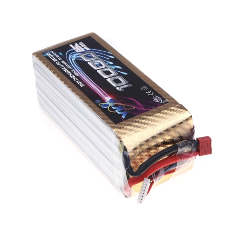 High Power YKS Lipo Battery 22.2V 10000mah 25C MAX 40C T Plug for DJI S1000 RC Car Boat Airplane Multirotor Part (DJI S1000 BatterToys &amp; Hobbies<br>High Power YKS Lipo Battery 22.2V 10000mah 25C MAX 40C T Plug for DJI S1000 RC Car Boat Airplane Multirotor Part (DJI S1000 Batter<br>