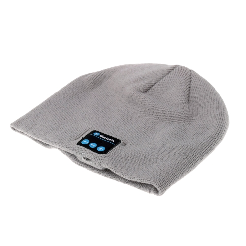 BT Music Headphone Soft Warm Beanie Hat Cap