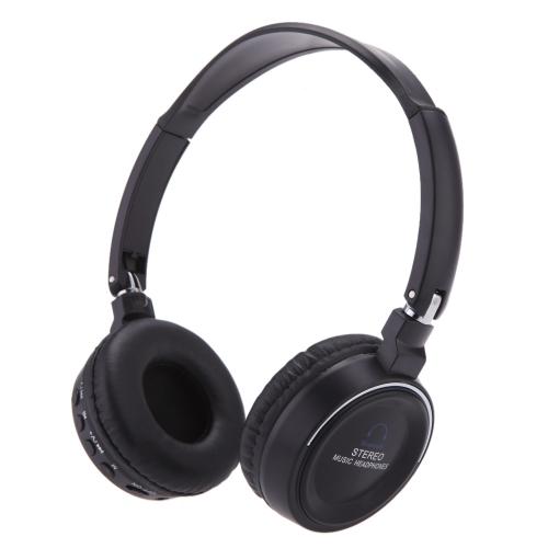 Nova Digital sem fio 3 em 1 multifuncional fone de ouvido estéreo BT fone de ouvido fone de ouvido com Mic MP3 Player rádio FM de música MicroSD/TF para smartphones Tablet PC Notebook