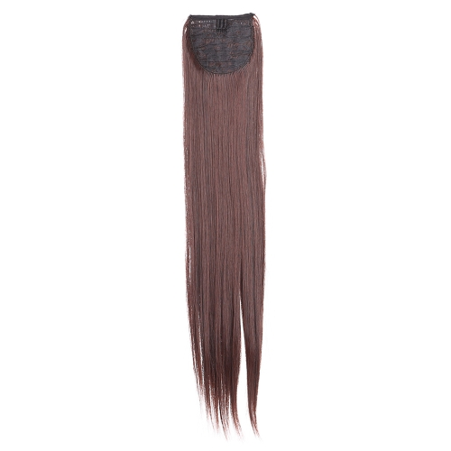 Fashion Women 5Clips Clip in Long Straight Ponytail Hairpiece Slice Synthetic Wig 24 60cmHealth &amp; Beauty<br>Fashion Women 5Clips Clip in Long Straight Ponytail Hairpiece Slice Synthetic Wig 24 60cm<br>