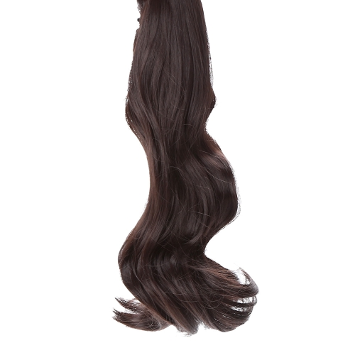 Jaw Clip  Long Wavy Pony Tail Ponytail Wig Hairpiece Hair Extension