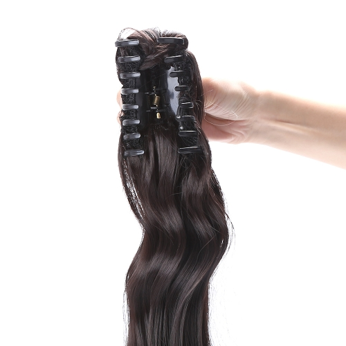 Jaw Clip  Long Wavy Pony Tail Ponytail Wig Hairpiece Hair ExtensionHealth &amp; Beauty<br>Jaw Clip  Long Wavy Pony Tail Ponytail Wig Hairpiece Hair Extension<br>