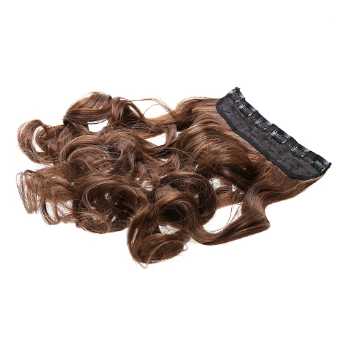 6Clips Long Big Wave Hair Thicken Fashion Popular Goddess Charming Curled Hair ExtensionHealth &amp; Beauty<br>6Clips Long Big Wave Hair Thicken Fashion Popular Goddess Charming Curled Hair Extension<br>