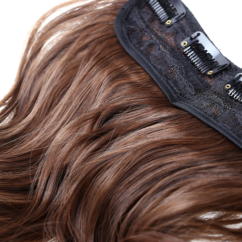 5Clips Long Big Wave Hair Thicken Fashion Popular Goddess Charming Curled Hair ExtensionHealth &amp; Beauty<br>5Clips Long Big Wave Hair Thicken Fashion Popular Goddess Charming Curled Hair Extension<br>