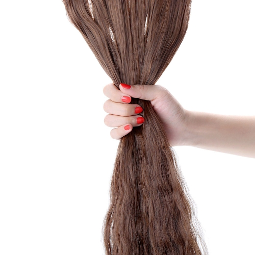 24 60cm Long Curly Hair Extension Corn Women Waving Hairs 5 Clips in Hair ExtensionsHealth &amp; Beauty<br>24 60cm Long Curly Hair Extension Corn Women Waving Hairs 5 Clips in Hair Extensions<br>