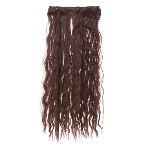 24'' 60cm Long Curly Hair Extension Corn Women Waving Hairs 5 Clips in Hair Extensions