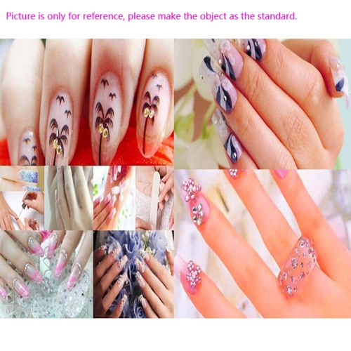 Pink Butterfly Plated Nail Art Stickers Tips Glitter Fashion Nail Tools DIY DecorationHealth &amp; Beauty<br>Pink Butterfly Plated Nail Art Stickers Tips Glitter Fashion Nail Tools DIY Decoration<br>