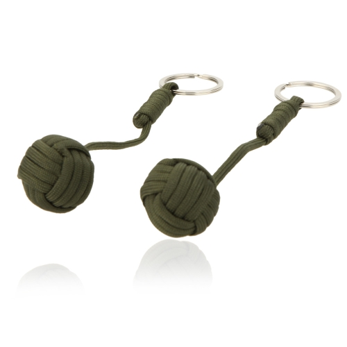 2pcs Paracord Parachute Cord Emergency Survival Tool Knot Keychain Key RingSports &amp; Outdoor<br>2pcs Paracord Parachute Cord Emergency Survival Tool Knot Keychain Key Ring<br>