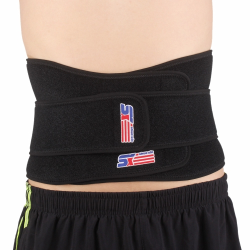 SX632 6 Springs Adjustable Breathable Waist Brace Support Lumbar Back Protection Magnetic Therapy BeltSports &amp; Outdoor<br>SX632 6 Springs Adjustable Breathable Waist Brace Support Lumbar Back Protection Magnetic Therapy Belt<br>