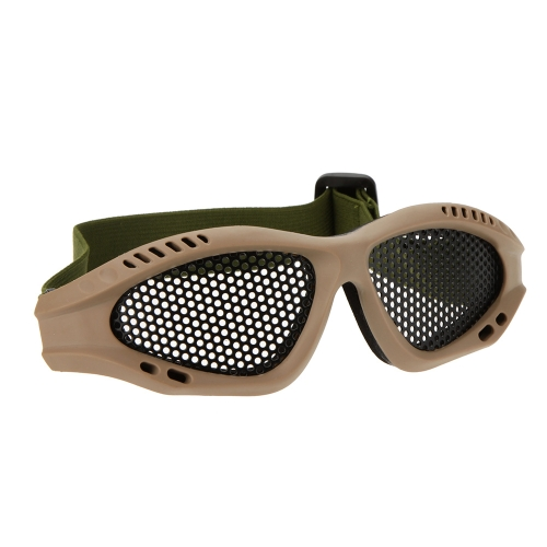 Adjustable Belt Goggles Lightweight Anti-fog Shock Resistant Eye Protection Metal Mesh Glasses for Airsoft Games SportsSports &amp; Outdoor<br>Adjustable Belt Goggles Lightweight Anti-fog Shock Resistant Eye Protection Metal Mesh Glasses for Airsoft Games Sports<br>