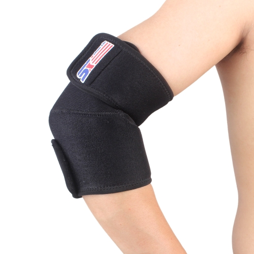 Adjustable Outdoor Sports Elbow Brace Support Elastic Wrap Guard Pad ProtectorSports &amp; Outdoor<br>Adjustable Outdoor Sports Elbow Brace Support Elastic Wrap Guard Pad Protector<br>