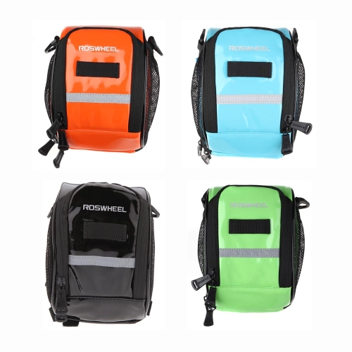 ROSWHEEL Cycling Bike Bicycle Handlebar Bar Bag Front Pannier for MTB Mountain Bike Outdoor Riding TravelSports &amp; Outdoor<br>ROSWHEEL Cycling Bike Bicycle Handlebar Bar Bag Front Pannier for MTB Mountain Bike Outdoor Riding Travel<br>