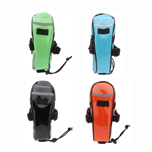 ROSWHEEL MTB Mountain Bicycle Bike Back Seat Tail Saddle Bag Pouch Glossy PU Outdoor Cycling Riding TravelSports &amp; Outdoor<br>ROSWHEEL MTB Mountain Bicycle Bike Back Seat Tail Saddle Bag Pouch Glossy PU Outdoor Cycling Riding Travel<br>