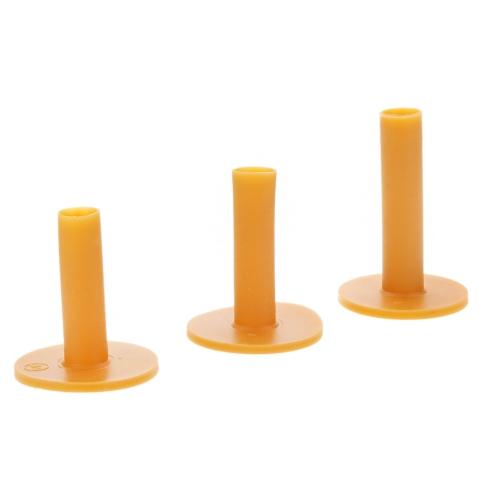 3 قطع حزمة دائم المطاط جولف المحملة حامل 60/70/80 ملليمتر التدريب الممارسة المحملة حصيرة