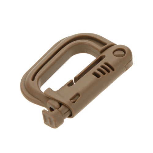 D-shaped D-Ring Strong Carabiner Snap Tactical Backpack Shackle Clip Key Ring Hiking Buckle EarthSports &amp; Outdoor<br>D-shaped D-Ring Strong Carabiner Snap Tactical Backpack Shackle Clip Key Ring Hiking Buckle Earth<br>