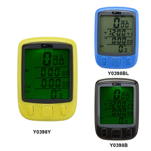 Bike Bicycle Cycling Computer Odometer Speedometer LCD Backlight Backlit Waterproof MultifunctionSports &amp; Outdoor<br>Bike Bicycle Cycling Computer Odometer Speedometer LCD Backlight Backlit Waterproof Multifunction<br>