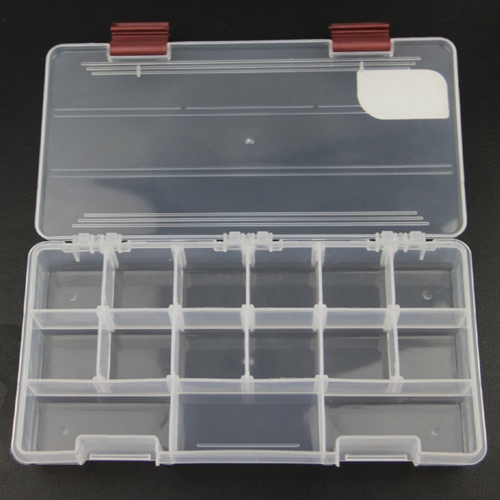 Ilure 5 Compartments Transparent Visible Plastic Fishing Box 22.5*11.2*3.3cm Durable Fishing Tackle BoxSports &amp; Outdoor<br>Ilure 5 Compartments Transparent Visible Plastic Fishing Box 22.5*11.2*3.3cm Durable Fishing Tackle Box<br>