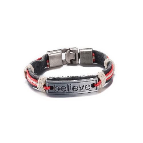 Vintage Fashion Alloy Metal Charm Buckle Strap Leather Wristband Unisex BraceletApparel &amp; Jewelry<br>Vintage Fashion Alloy Metal Charm Buckle Strap Leather Wristband Unisex Bracelet<br>