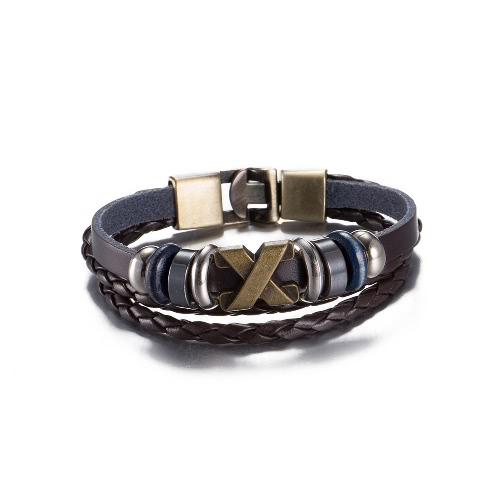 Fashion Special Alloy Leather Wristband Unisex Infinity Charm BraceletApparel &amp; Jewelry<br>Fashion Special Alloy Leather Wristband Unisex Infinity Charm Bracelet<br>