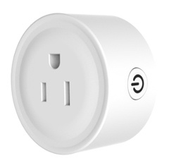 Wifi Smart Socket Compatible with Amazon Alexa Wireless Remote Control Light Switch Wifi Intelligent Plug