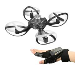 2.4G Glove Control Interactive Mini Drone w/ Alitude Hold Gesture Control RC Quadcopter