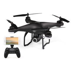 SJ R/C S20W720P-D(GPS) FPV Adjustable 720P HD Camera Wide Angle RTF GPS Positioning Altitude Hold Quadcopter Drone