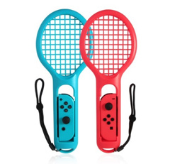 Twin Pack Tennis Racket for Mario Tennis Aces Joy-Con Controllers Nintendo Switch