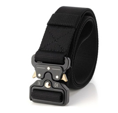 Lixada Nylon Waist Belt with Metal Buckle Adjustable Heavy Duty Training Carry Waist Belt