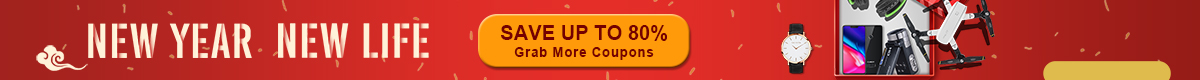 New Year Special Offer save up to 80%, More Coupons Waiting for You - Cafago.com