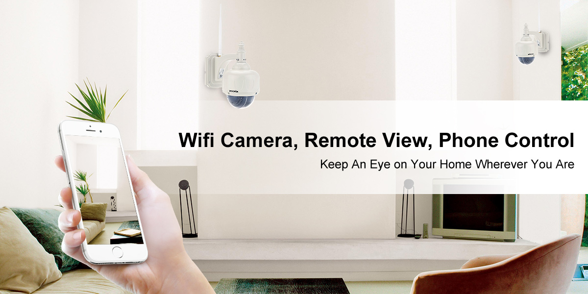 Wifi Camera, Remote View, Phone Control