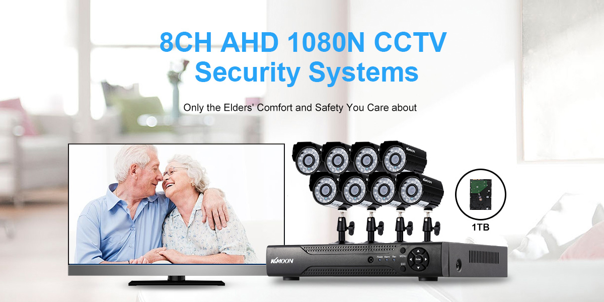 8CH AHD 1080N CCTV Security Systems