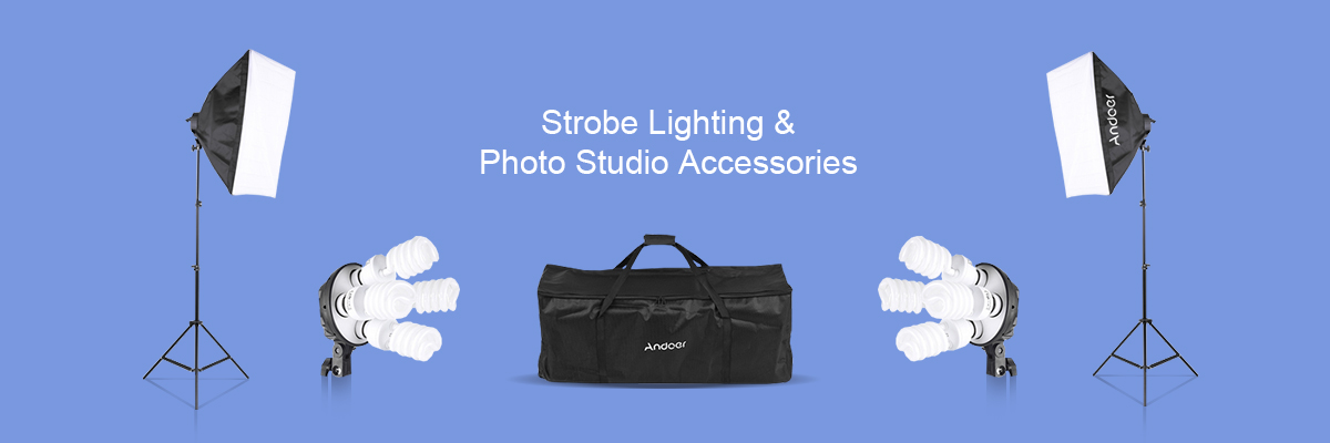 Photo Studio Accessories Banner
