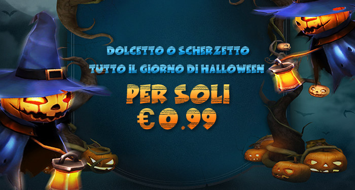 Trick or Treats All Halloweens Day For Only €0.99