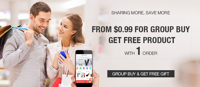 Group Buy and Sharing to Get Free Gift Event are in progress