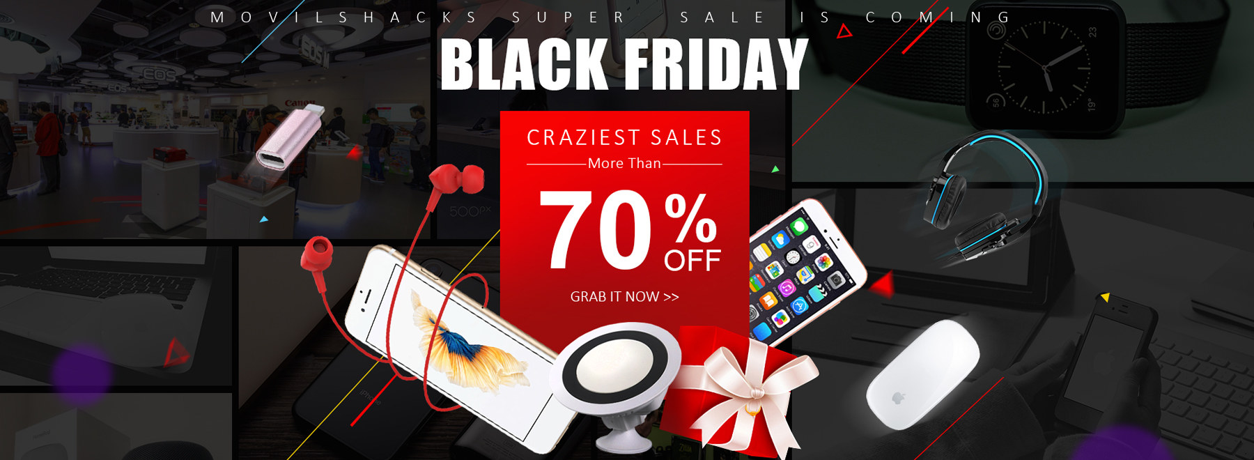 BLACK FRIDAY CRAZIEST SALES More Than 70% Off