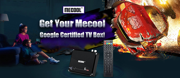 Mecool Google Certified Android TV Box