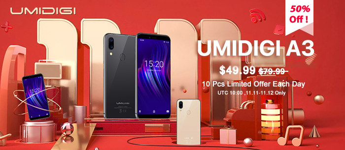 UMIDIGI Globle Shopping Festival 11.11 PRE-SALE