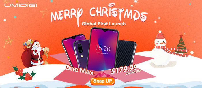 Global First Launch UMIDIGI One Maxs Smartphone
