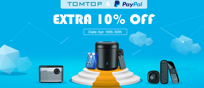 Use Paypal Get Extra 10% Off