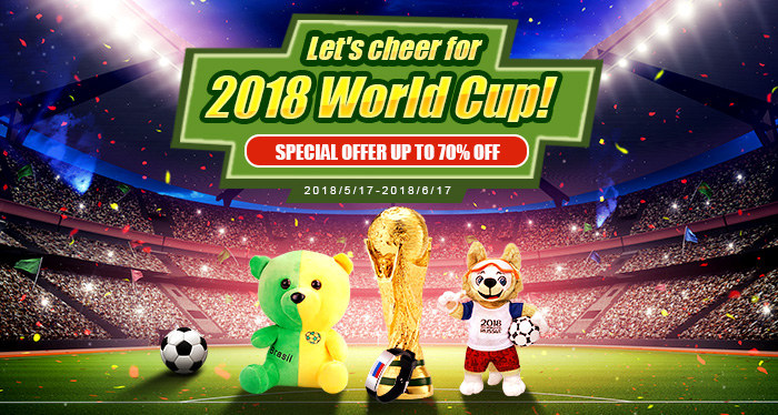 Lets cheer for 2018 World Cup!
