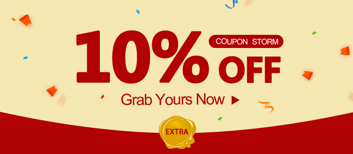 Get Extra 10% Off, Graps Your Coupons Now