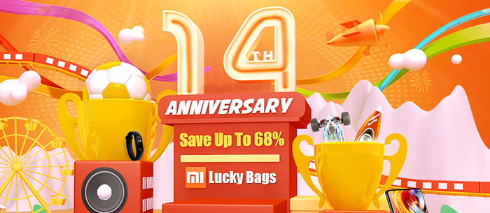 Tomtop 14th Anniversary Celebration Big Deals, Save Up to 68% Off | Tomtop