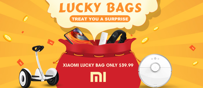 Get Lucky Bags, Treat You A Surprise, Worth Far More Than The Cost | Tomtop