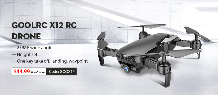 Goolrc X12 RC Drone with Promotional Sale