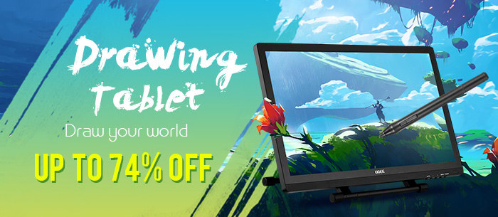 Drawing Tablet with Promotional Sale