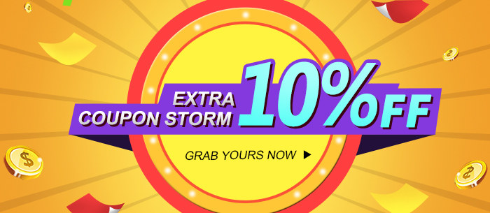 Coupon Storm EXTRA 10% OFF