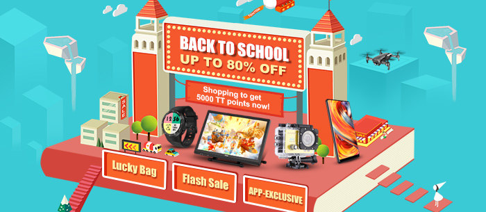 2018 Back to School Season Sale