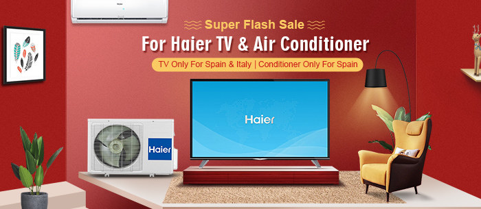 2018 Super Flash Sale for Haire TV and Air Conditioner | Tomtop