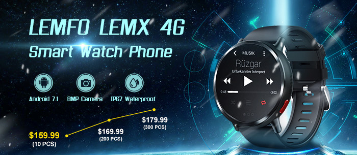 The Latest LEMFO Smart Watch Phone Special Offer for Sale-Tomtop.com